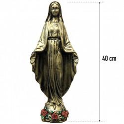 Statuette de la Vierge 40 cm