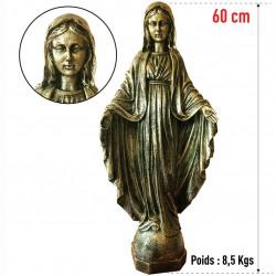 Statuette de la Vierge 60 cm