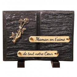 Plaque Funéraire Schiste...