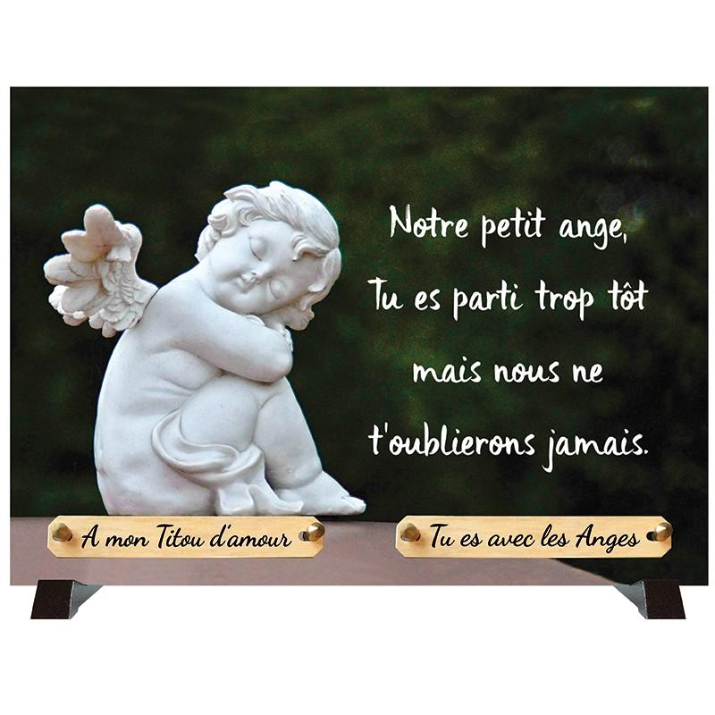 """Plaque Funéraire """"Ange"""""""