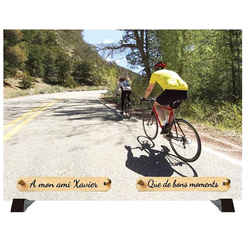 """Plaque Funéraire """"Cyclisme Sports"""""""