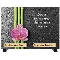 """Plaque Funéraire """"Bambou"""""""