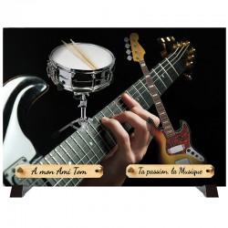 """Plaque Funéraire """"Musiciens"""""""