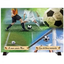 "Plaque Funéraire ""Football - Footballeur"""