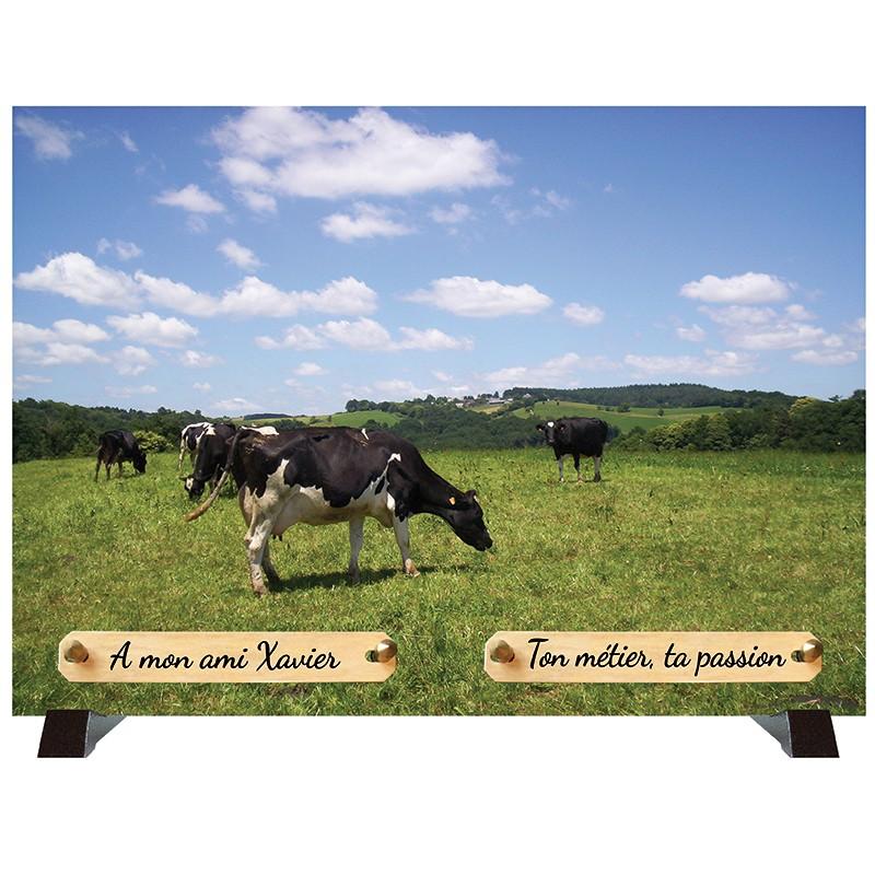 """Plaque Funéraire """"Campagne"""""""