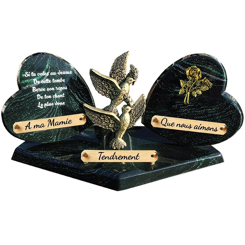 Plaques funéraires de Prestige SAINT-OUEN-SUR-MORIN 77 - PLAQUE FUNÉRAIRE PERSONNALISÉE SAINT-OUEN-SUR-MORIN 77